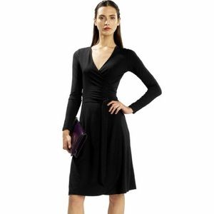Long sleeve. V neck banana republic dress
